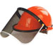 Wire-mesh Face Visor with aluminum bracket Model No. MZ-2B